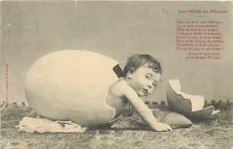 BO-14-231 : Bergeret éditeur à Nancy Les Oeufs De Pâques - Cartes Postales