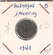 Allemagne  1 Pf 1941 B - [ 4] 1933-1945 : Third Reich