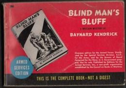 Blind Man´s Bluff -  Editions Du Service Des Armées U.S - 255 Pages - Amerikaans Leger
