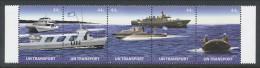 UN New York 2010 Michel 229-1233. Strip Of 5, MNH** - Nuevos