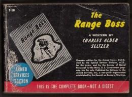The Range Boss -  Editions Du Service Des Armées U.S - 287 Pages - Forces Armées Américaines