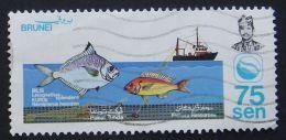 Brunei 1983 Fishery Resources 75 Sen Used - Brunei (1984-...)