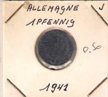 Allemagne  1 Pf 1941 J - [ 4] 1933-1945 : Third Reich
