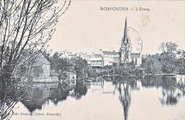 23735 Rosporden- Etang- Editeur Chalonny Tabacs Rosporden - - Clohars-Carnoët