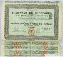Tramways De Cherbourg - Chemin De Fer & Tramway