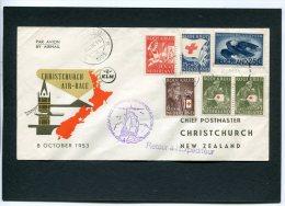 Nederland Luchtpost 1953 Christchurch Airrace - 1949-1980 (Juliana)