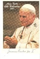 Tarjeta Postal De Papa Juan Pablo II - Pausen