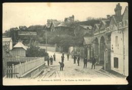 Seine Inférieure 76 Pourville Sur Mer Environs De Dieppe Le Casino De 97 Animée Coin Inf Droit Rogné - Francia