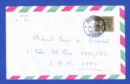 ENVELOPPE -- CACHET - SOCORRO, LISBOA - 23.8.65 - 1910-... República