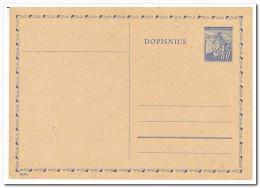 Tsjechoslowakije, Postcard Unused - Postkaarten