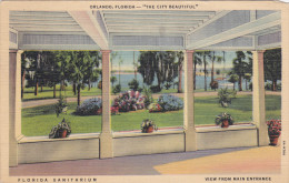 Florida Sanitarium, View From Main Entrance, ORLANDO, Florida, PU-1937