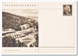 Tsjechoslowakije, Postcard Unused, Luhacovice - Postwaardestukken
