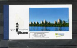 Nelle CALEDONIE :  Centre Culturel Jean-Marie TJIBAOU : Portrait De Tjibaou, Peintures De Fatu Feu´u Et Mathias Kauage, - Libretti