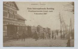 (J444) - Kopie / Meerbeke - Tramstatie / 32ste Int. Ruildag Prentkaartenclub ... - Ninove
