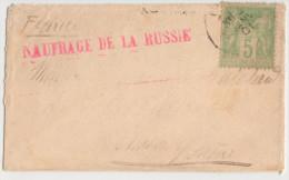 "LSC - Sage N° 106 Obl. Janv 01 Mention Rouge ""Naufrage De La Russie"" - 1898-1900 Sage (Tipo III)"