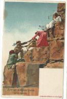 Egypte: Ascension De La Grande Pyramide Par Un Touriste ( Lichtenstern & Harari ) - Egypte