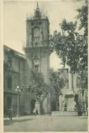 13 - AIX-en-PROVENCE - Place De L'Hôtel-de-Ville Et Tour De L'Horloge - Aix En Provence