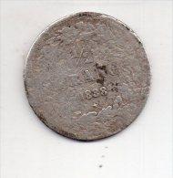 REF 1  : Monnaie Belge Demi Franc 1/2 1838 Argent Etat B LEOPOLD 2 - 1831-1865: Léopold I.
