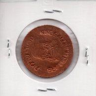 REF 1  : Monnaie Médaille ISRAEL King Salomon Pillars  Coppers Mines Jeton Touristique Tokken - Israel