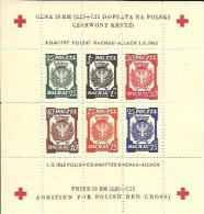 POLONIA   Cruz Roja. - 1939-44: World War Two