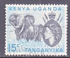 K.U.T.   105   ELEPHANTS  105  (o) - Kenya, Uganda & Tanganyika