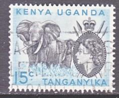 "K.U.T.   106   W. DOT UNDER ""c""   (o) - Kenya, Uganda & Tanganyika"