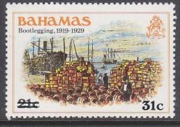 BAHAMAS, 1983  31c SURCHARGE O/PRINT 1 MNH - Bahamas (1973-...)
