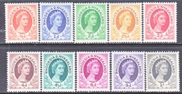RHODESIA &  NYASALAND 141-49  ** - Rhodesia & Nyasaland (1954-1963)