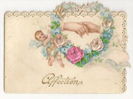 M-A @ CARTE EN CELLULOÏDE FORMAT ENVIRON  7, 5 CM X 11,5 CM - Cartes Postales
