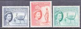 SOMALILAND  128-30    * - Somaliland (Protectorate ...-1959)