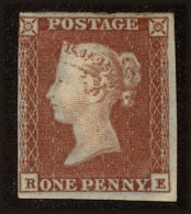 Great Britain Scott #3, 1841, Stanley Gibbons No., Hinged - 1840-1901 (Victoria)