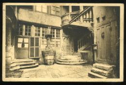 Seine Inférieure 76 Rouen 5 Cour Intérieure Du XVIe Siècle Rue Du Petit Salut 1936 - Rouen