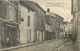 79 - Mauzé-sur--le-Mignon - **Grande Rue ** - Carte En Bon état - Mauze Sur Le Mignon