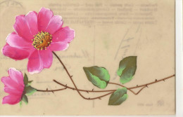 M-A@ CPA CELLULOÏDE PENSEE PEINTE - Cartes Postales