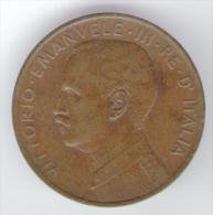 ITALIA 2 CENT 1917 VITTORIO EMANUELE III - 1861-1946 : Regno