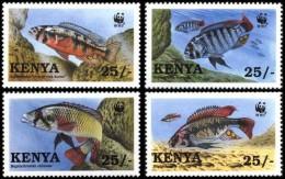 (WWF-209) W.W.F. Kenya MNH Fish Stamps 1997 - W.W.F.