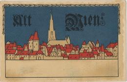 Gruss Aus Wien  Litho Alt Wien - Autres