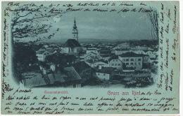 Gruss Aus Ried Gesammtansicht P. Used 1899 Edit O. Schleich Dresden 47 M - Ried Im Innkreis