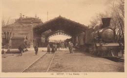 Algérie  SETIF  La Gare - Sétif