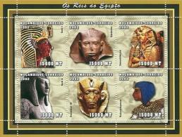 MOZAMBIQUE EGYPTIAN EGYPT KINGS S/S MNH C2 MOZ2105 - Célébrités