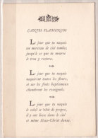 Cantes Flamencos , Chants Populaires Gitans Andalousie , Traduit Par Guy Levis Mano - Musik Und Musikanten