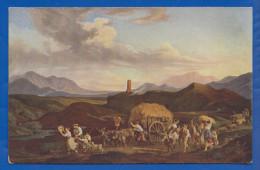 Malerei; Richter Ludwig; Erntezug In Der Römischen Campagna; Museum Leipzig - Richter, Ludwig