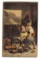 Bambini  E Quadro VIAGGIATA 1905 COD.C 1601 - Gruppi Di Bambini & Famiglie