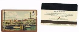 LETTONIA (LATVIA) - LATTELEKOM (ALCATEL) -  1996 RIGA: RIVER                 - USED  -  RIF. 5223 - Latvia