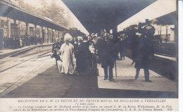 VERSAILLES, , Reine Et Prince Royal De Hollande, M Mollard En Gare, Non Circulée - Versailles