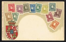 ESPANA (Spain) - Embossed Stamps Coat Of Arms - Zonder Classificatie