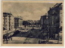WIEN,   Schwarzenbergplatz - 1943, Tram, Straßenbahn - Wien