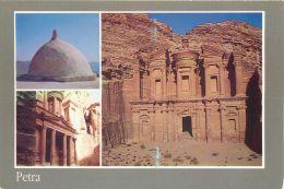 Petra, Jordan Postcard Used Posted To UK Used Posted To UK 1997 Stamp - Jordan