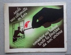 Image Chromo Publicite : Allumette En Bois - Illustrateur M. Ponty - Cromos