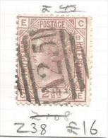 Malta GB Stamps Used In Malta Z38 C-E - Malta